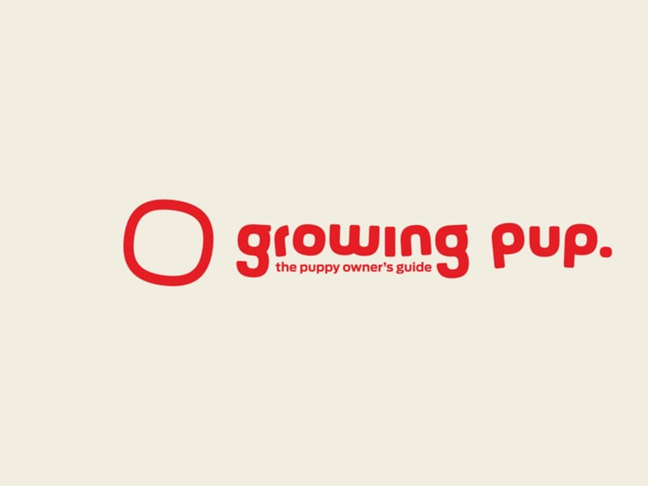 Purina Growing Pup Logo Animation