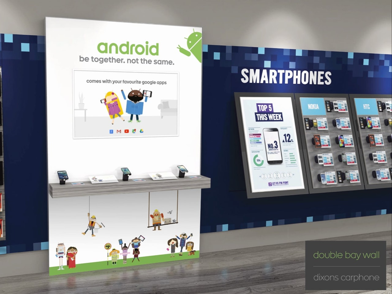 Carphone Warehouse Android Point of Sale with Digital