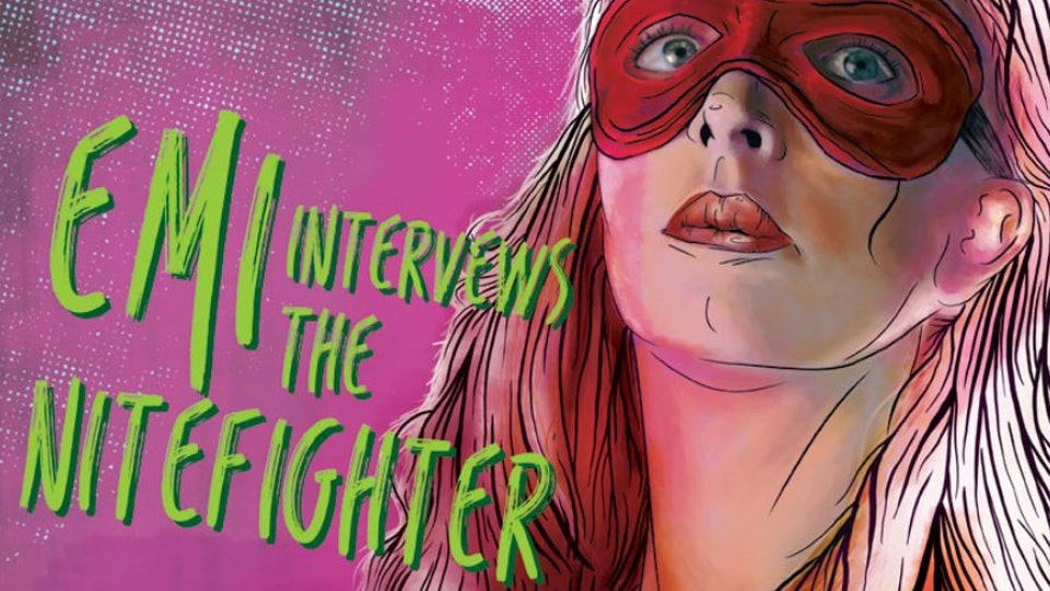 NEW VIZION FILMS - Emi Interviews the Nite Fighter...Title Tentative
