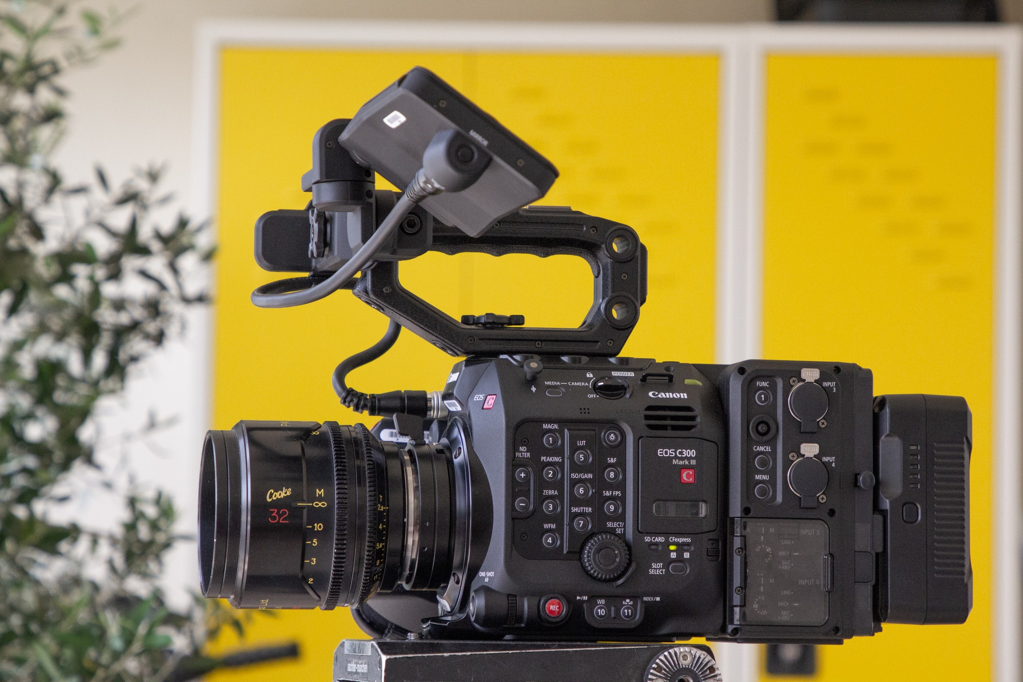 Canon C300mkIII with Cooke mini S4i 32mm