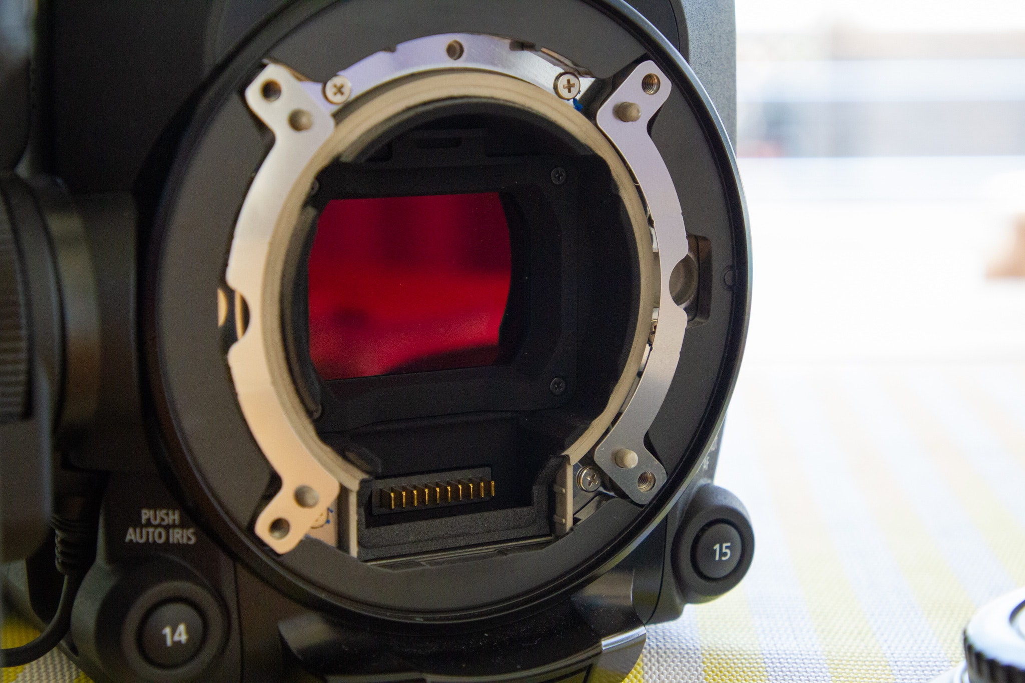 C300mkIII without Lens mount