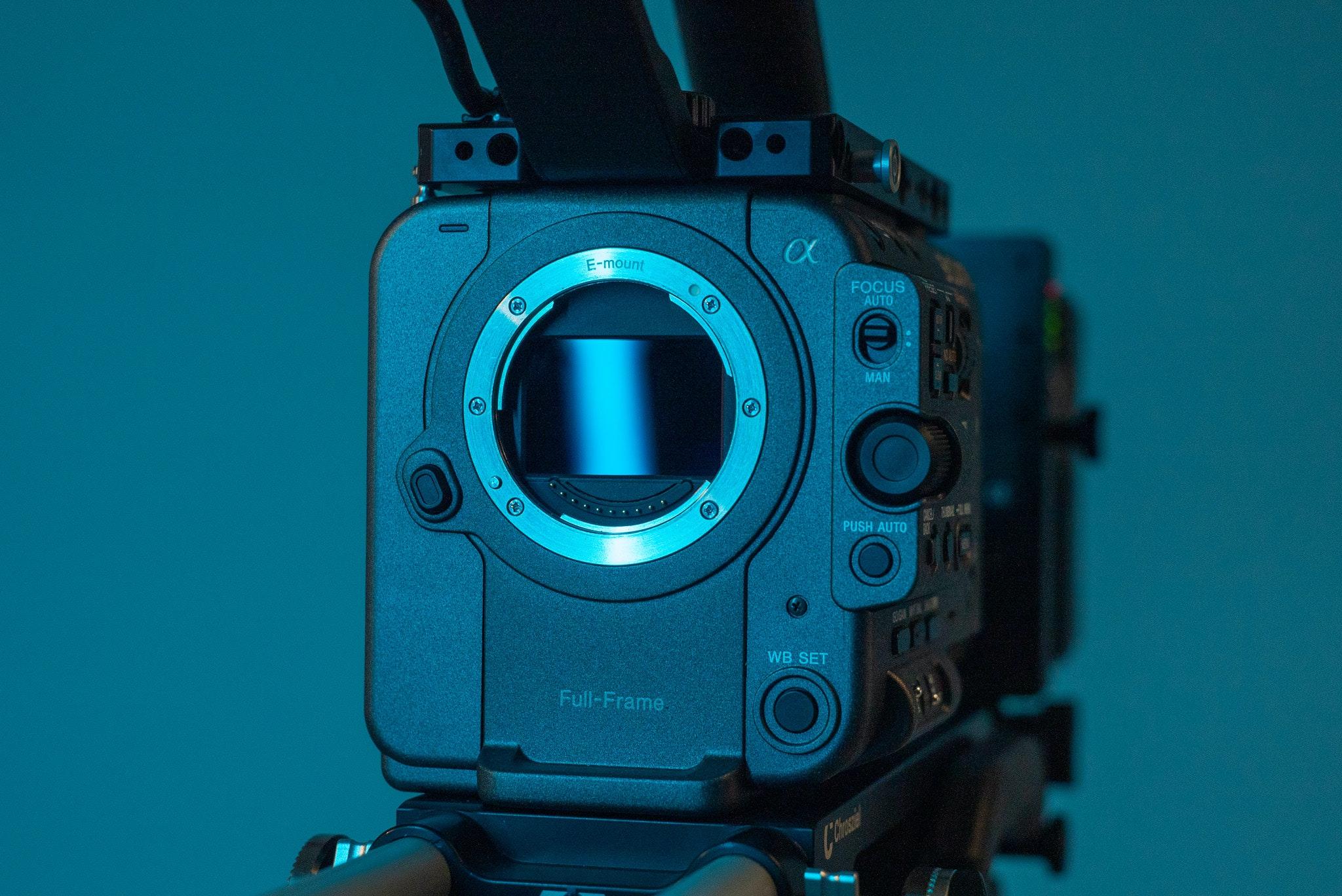 Sony Fx6 full frame sensor