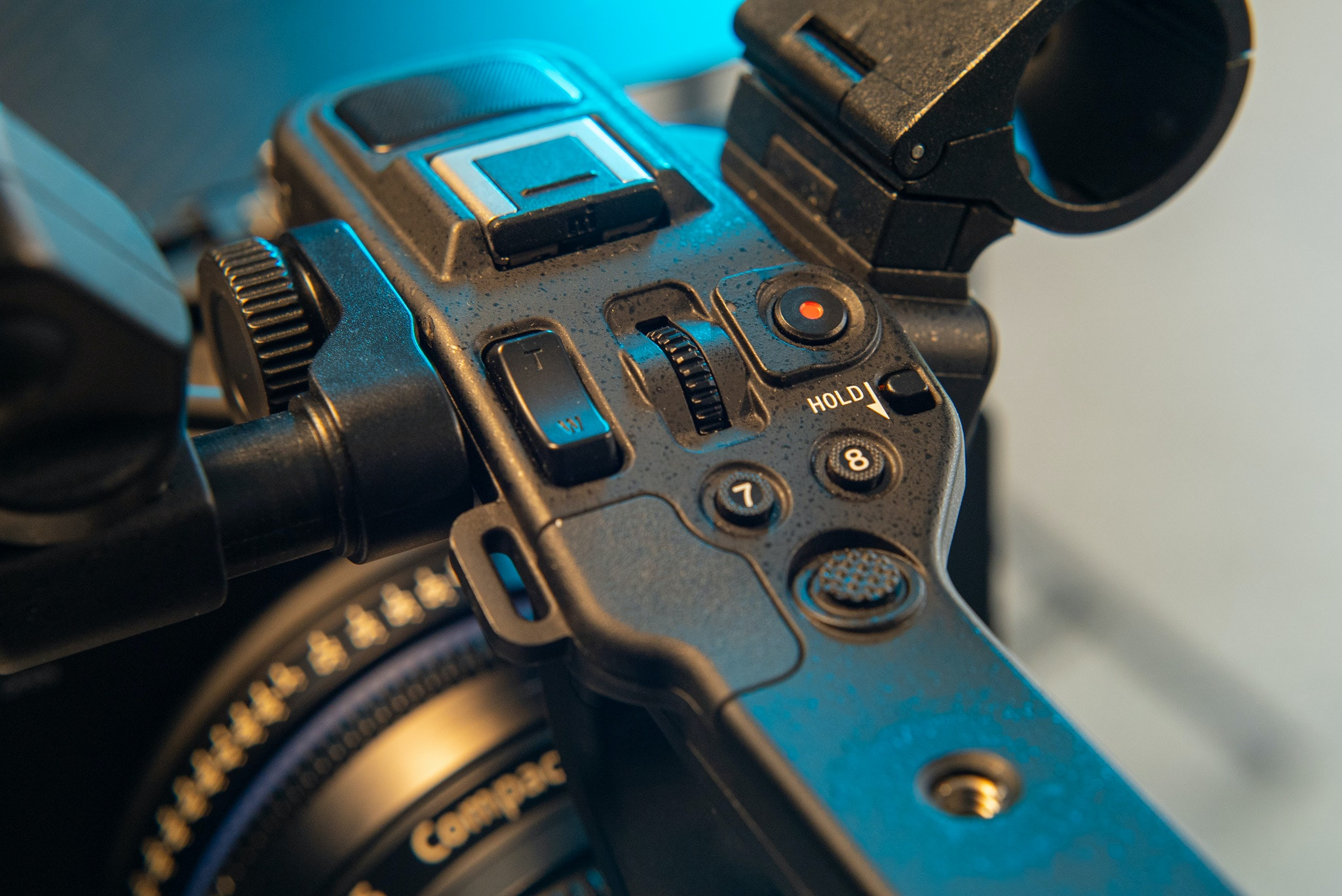 Sony Fx6 side handle with internal mic, assignable buttons and XLR inputs