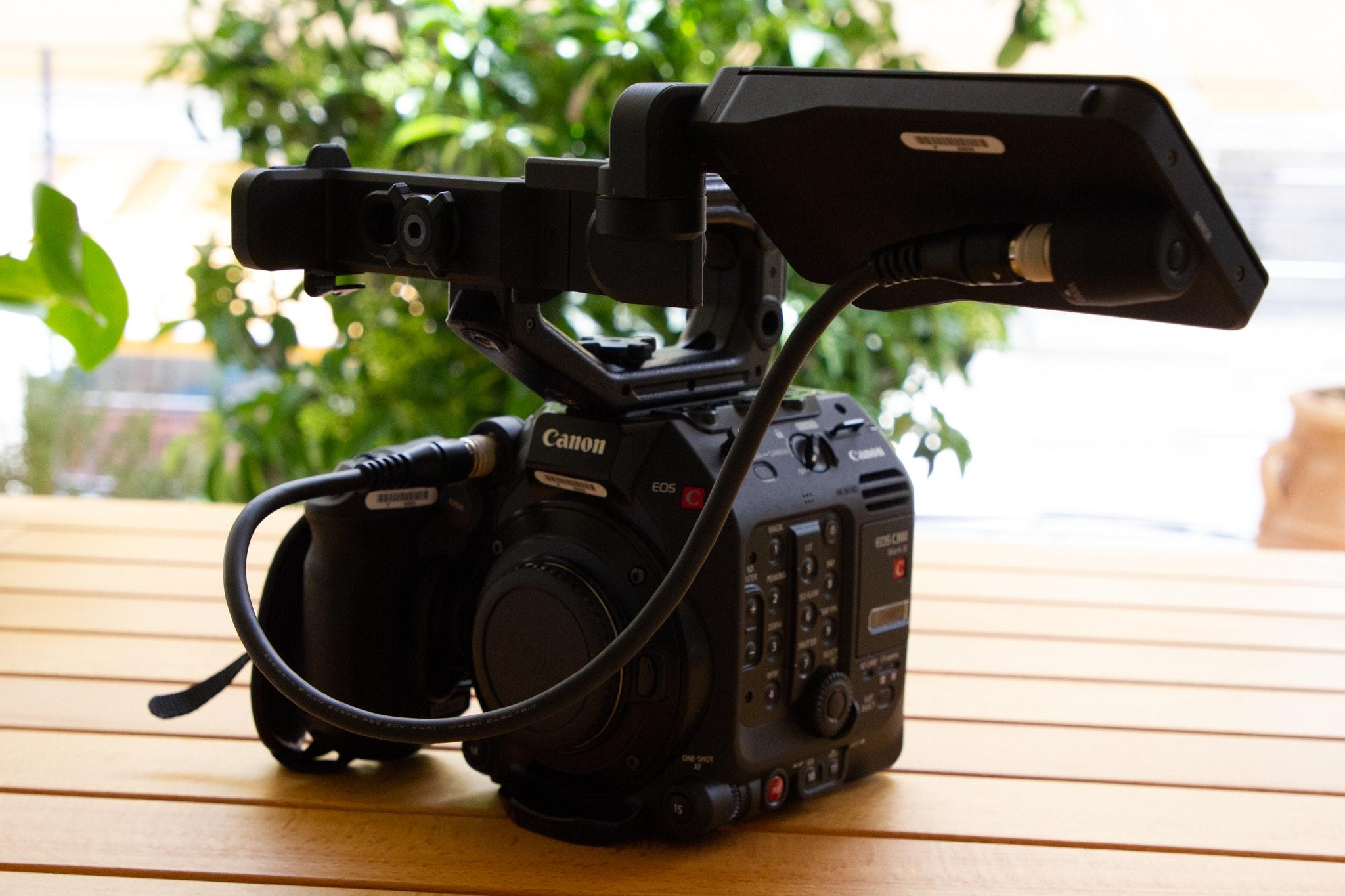 Canon C300mkIII minimal setup