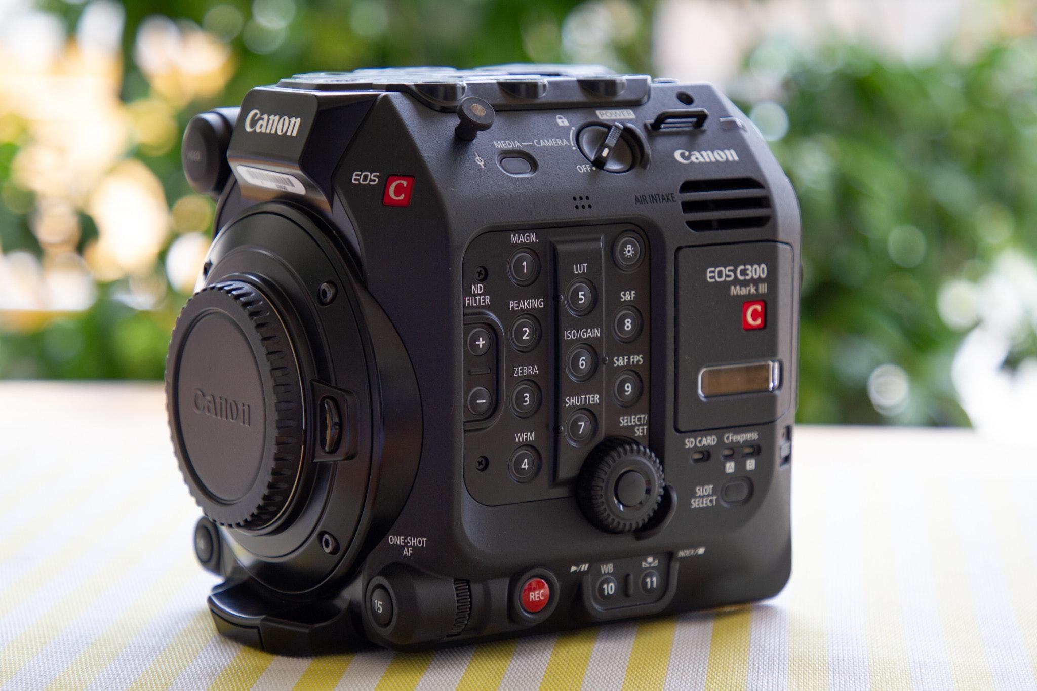 Canon C300mkIII body