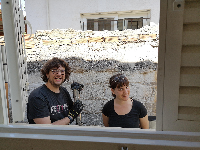 Βούτα happy crew Δημήτρης και Νεφέλη