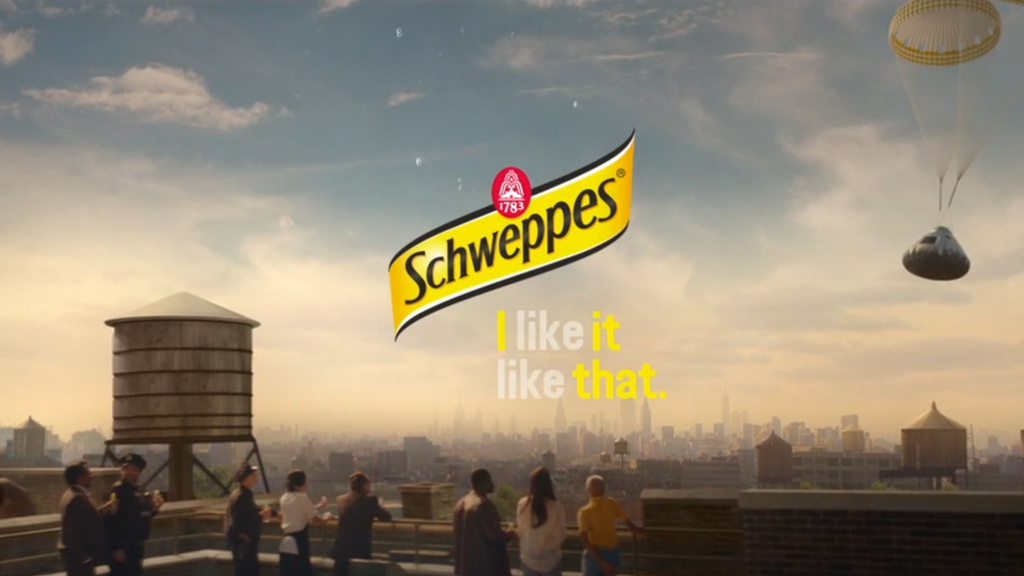 Schweppes - I Like It Like That
