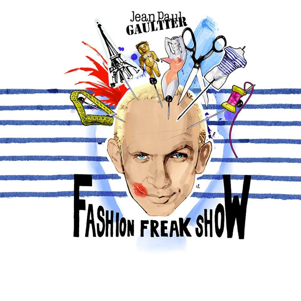 Nicolas Huchard - Jean Paul Gaultier — Fashion Freak Show