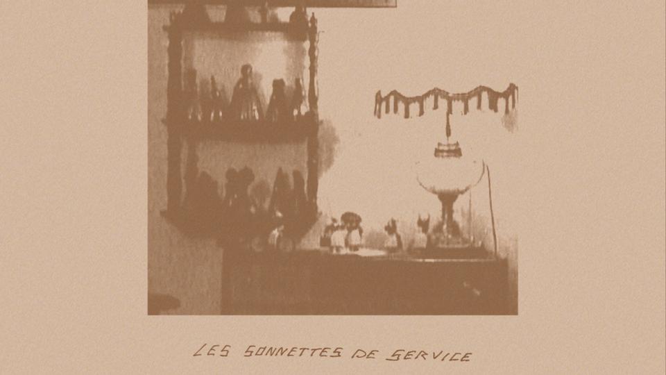 LES SONNETTES DE SERVICE