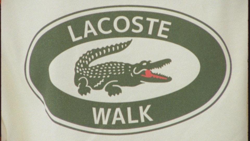 WALK IN PARIS x LACOSTE