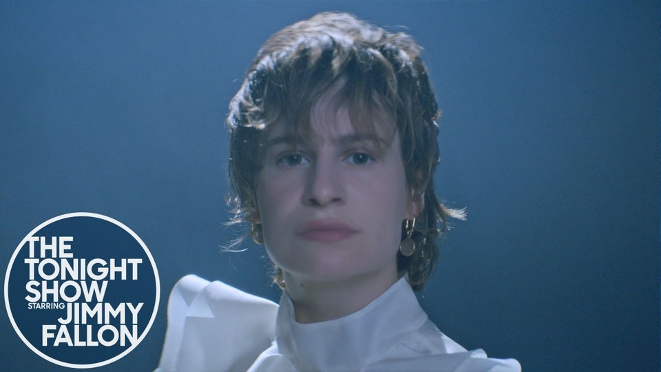 Christine and the Queens: I Disappear in Your Arms (The Tonight Show: At Home Edition)