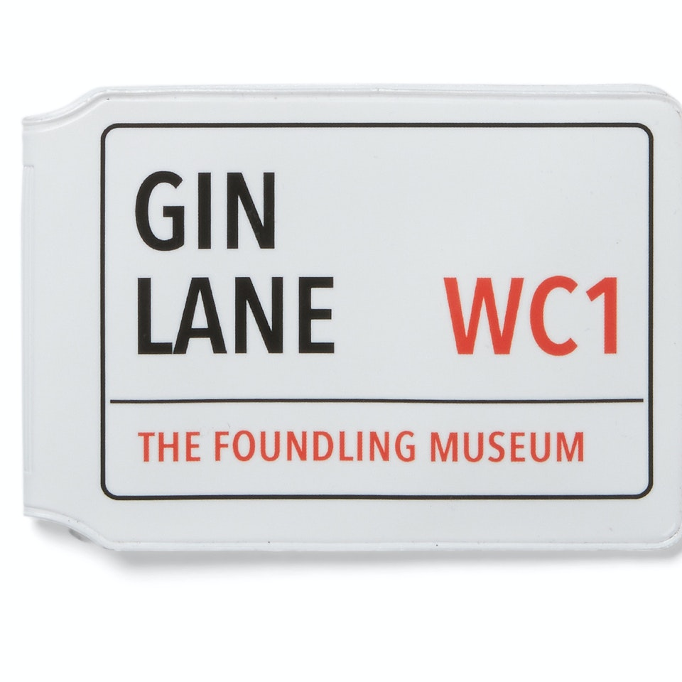 The Foundling Museum - gin lane travelcard James