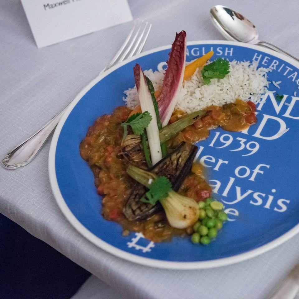 Blue Plaque plates launch, Freud Museum NEWNEW_curry
