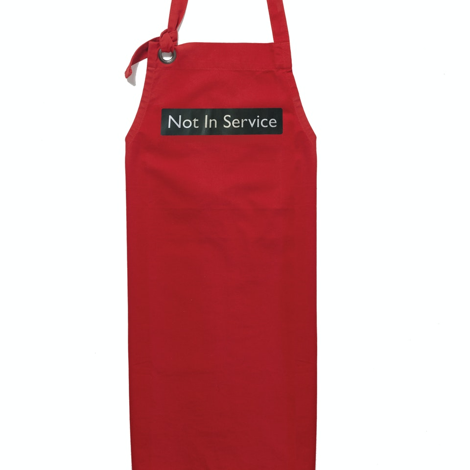 London Transport Museum Not in service apron website