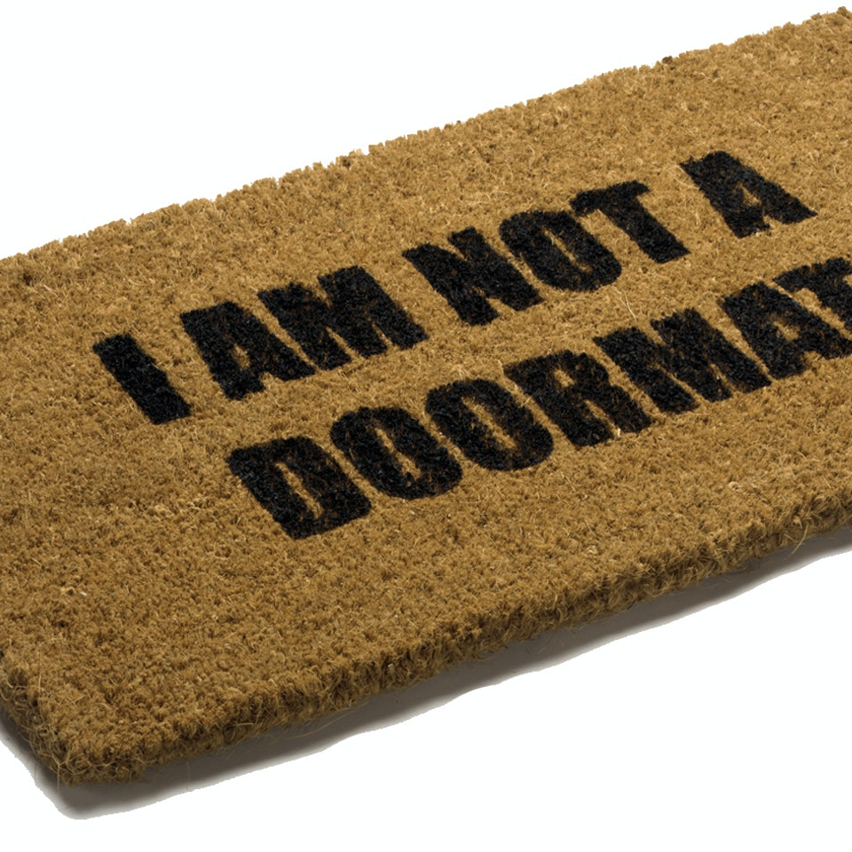 Own-brand product archive doormat