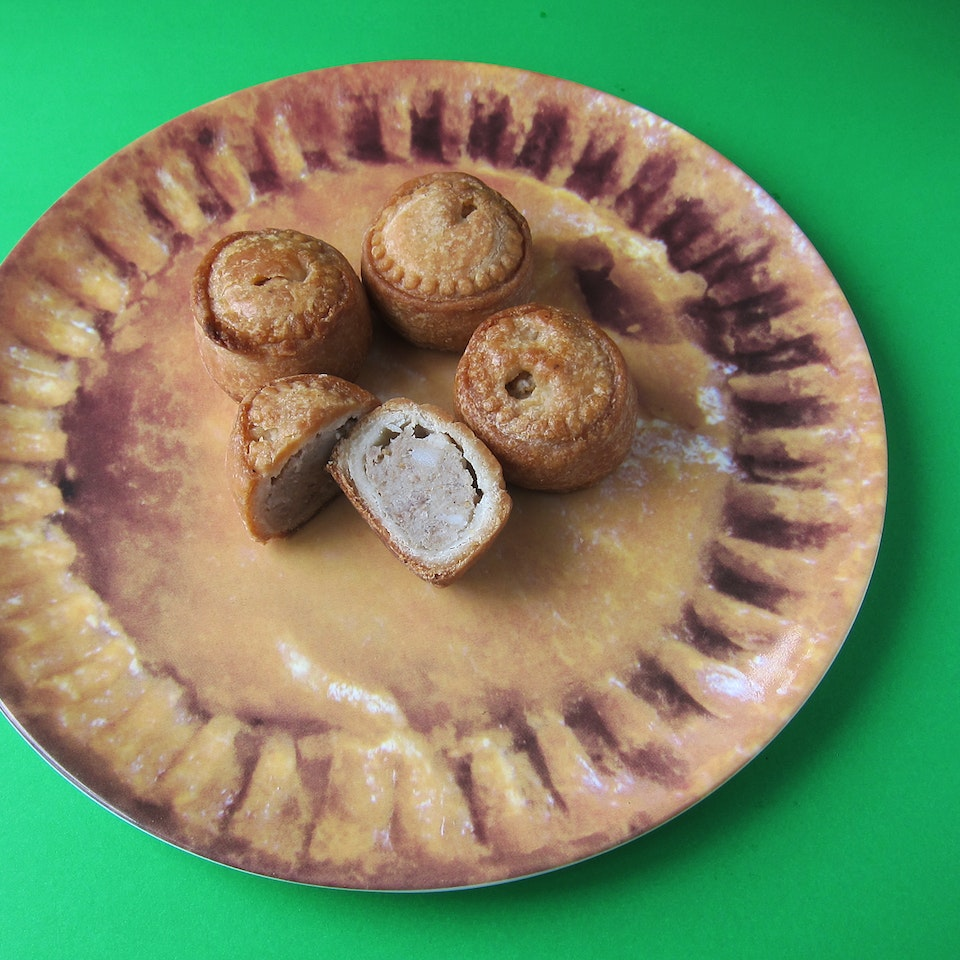 Own-brand product archive porkpies
