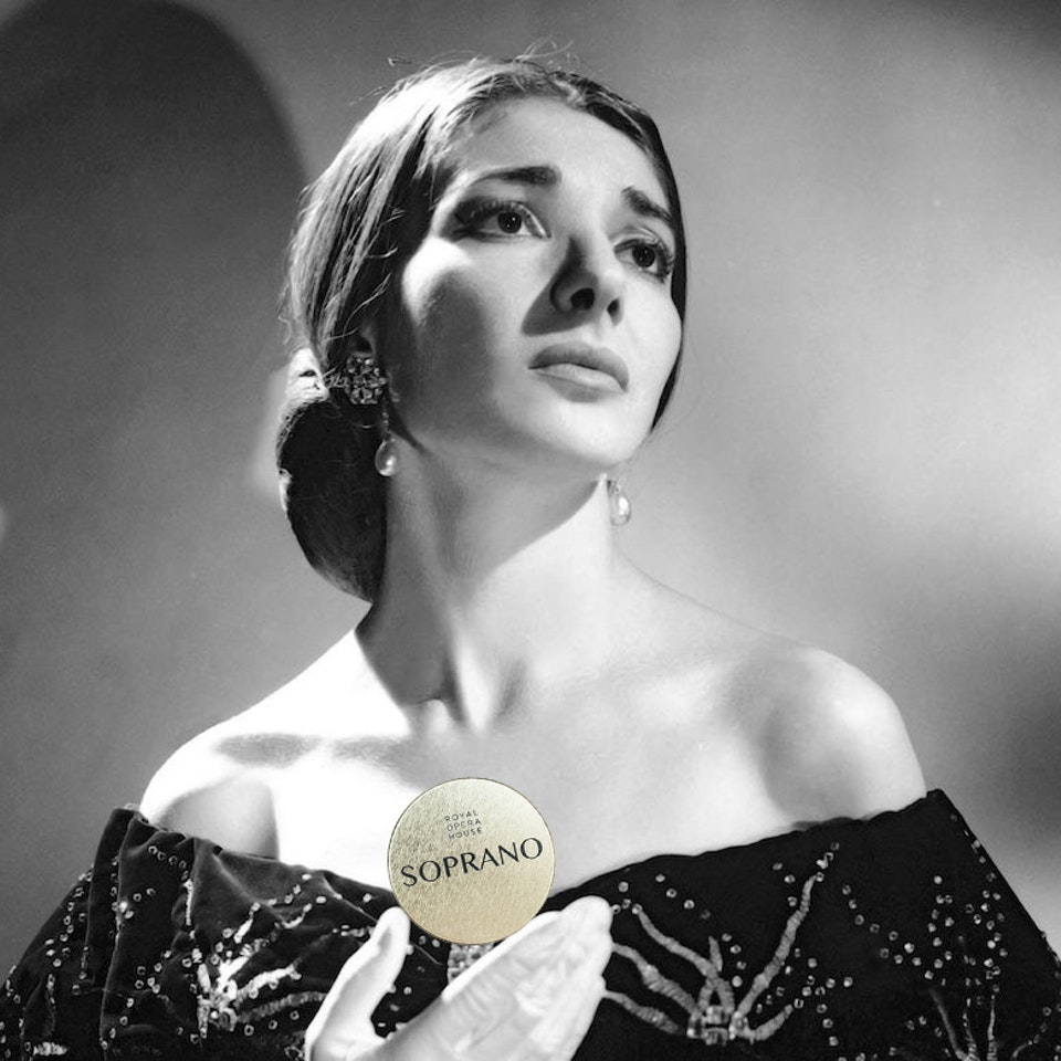 Royal Opera House Maria-Callas WITH SWEETS