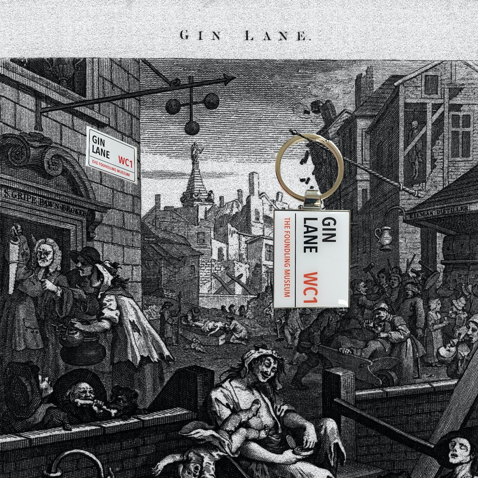 The Foundling Museum - GinLane_withproducts new