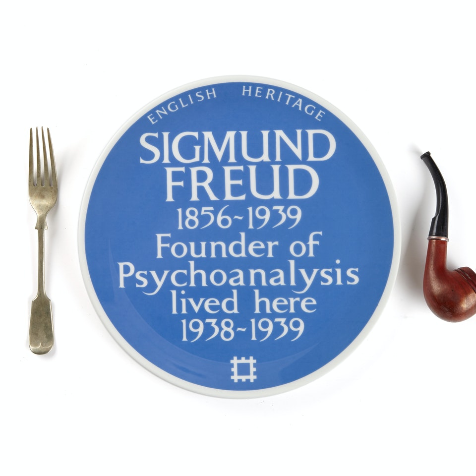English Heritage SigmundFreud_fork&pipe