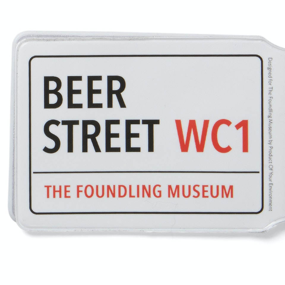 The Foundling Museum - beer st travelcard wallet