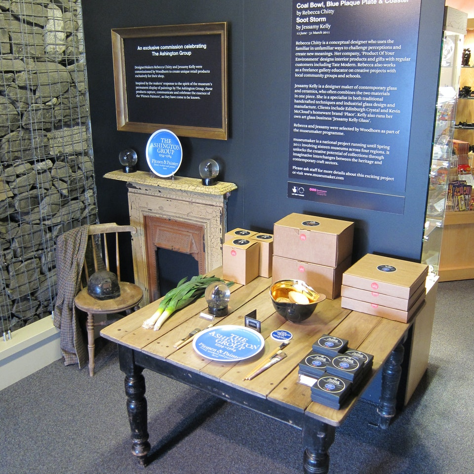 Museumaker Arts Council commission for Woodhorn Colliery & Archive display2