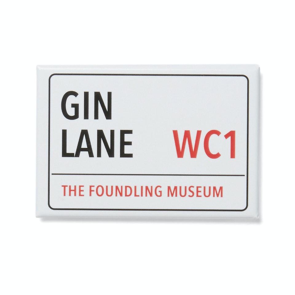 The Foundling Museum - gin lane magnet