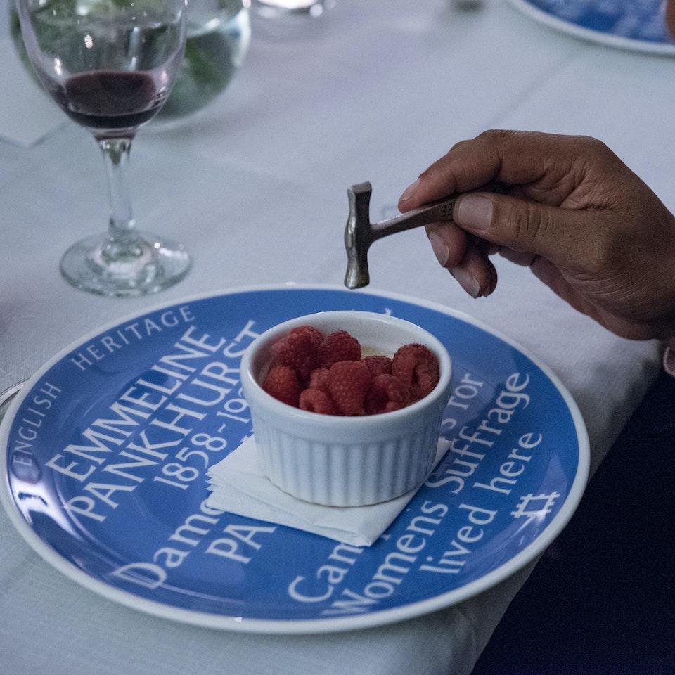 Blue Plaque plates launch, Freud Museum NEWNEW_hammerGus