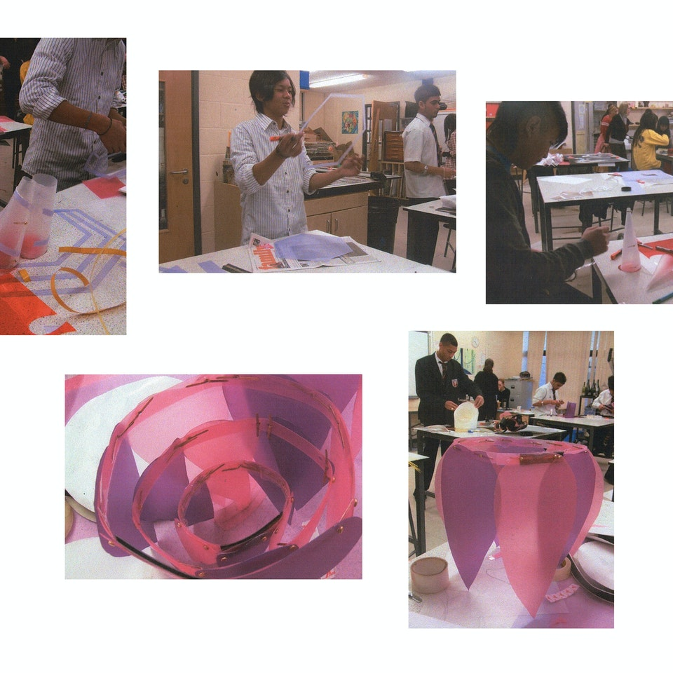 Youth Projects. Museum of The Home & University Of The Arts London work in progress 1