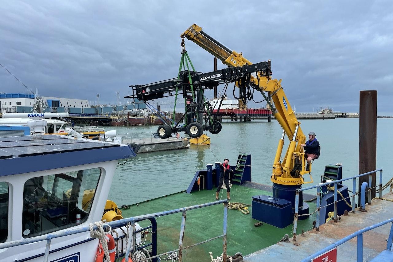 Camera Crane Boat