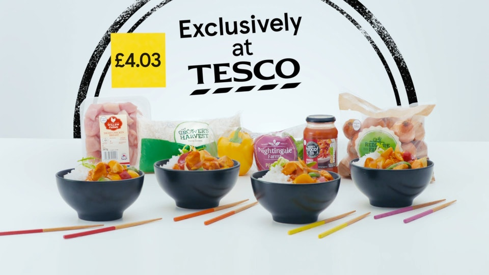 Cross Street Studio - Tesco - 'Sweet and Sour'