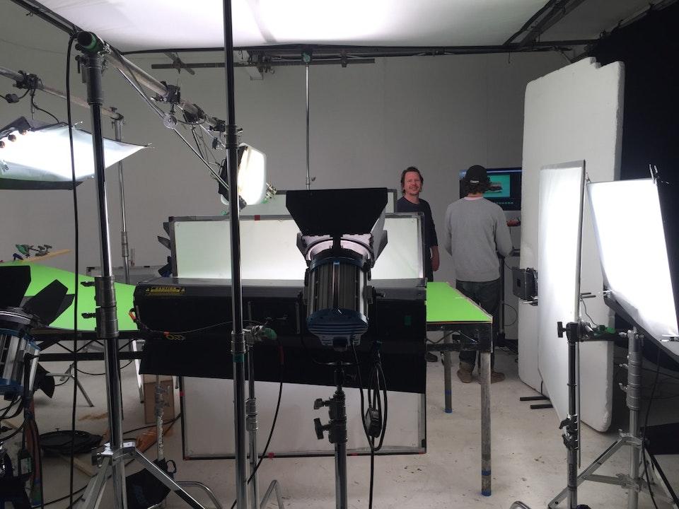 Cross Street Studio - Pete Ellmore DOP on 'Subway' with Picturesmith.
