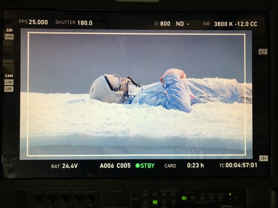 Cross Street Studio - ETC and Director Jake Mengers shoot Carphone Warehouse, Producer Jen Coatsworth.