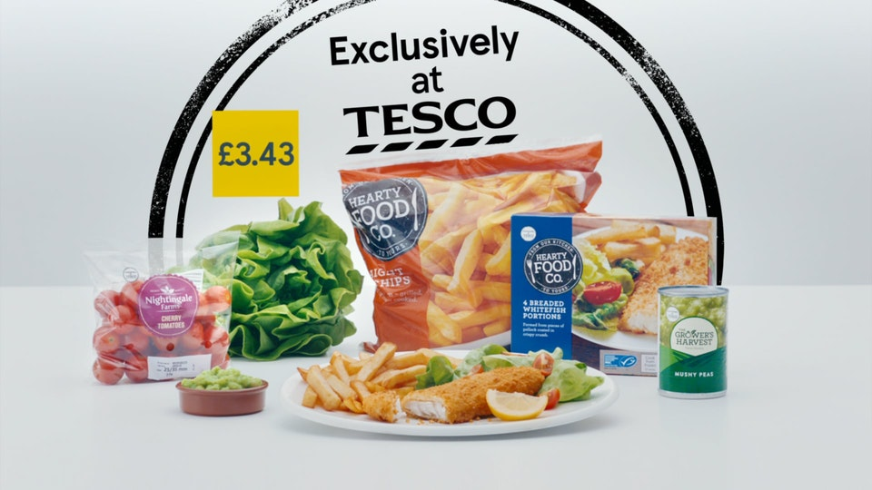 Cross Street Studio - Tesco Value 'Fish and Chips'