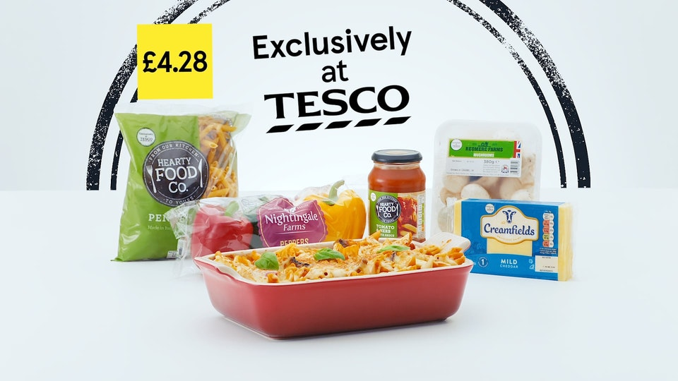 Cross Street Studio - Tesco 'PastaBake'