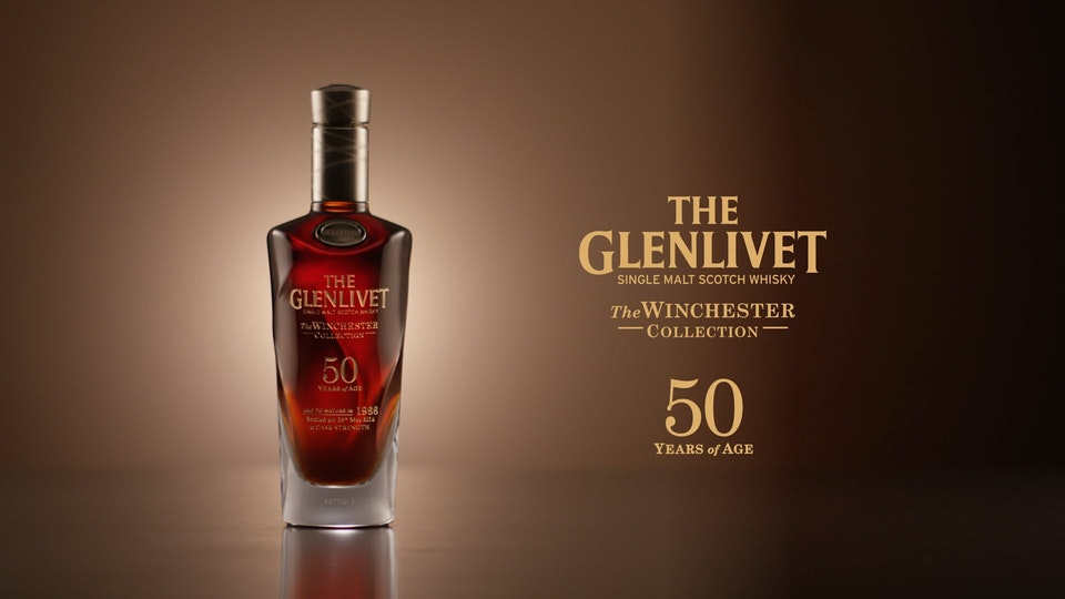 Cross Street Studio - Glenlivet '50yr Bottle'