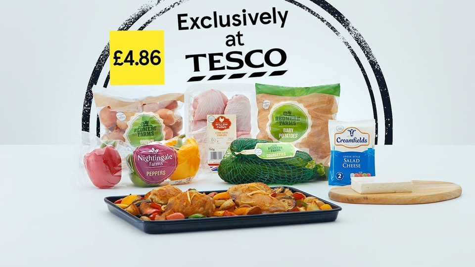 Cross Street Studio - Tesco 'Traybake'