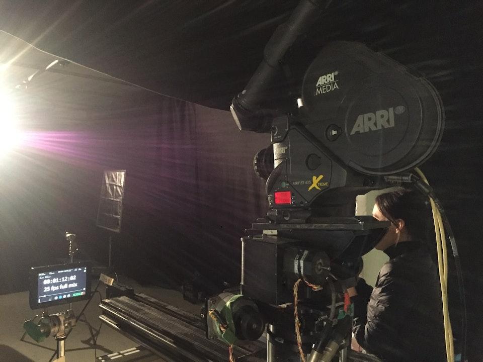 Cross Street Studio - Shooting Jonathan Jeremiah with Director James Littlemore
