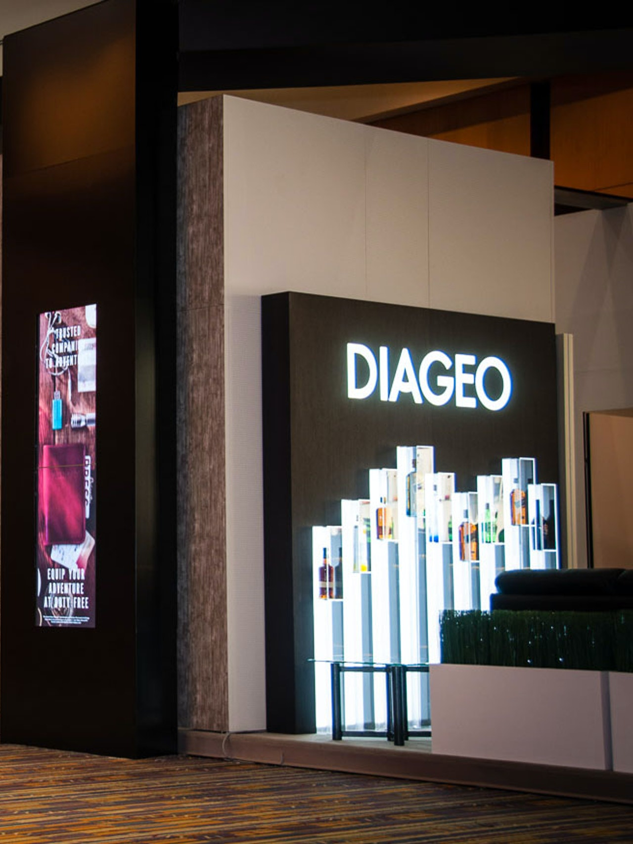 DIAGEO IAADFS BOOTH - YEAR 2