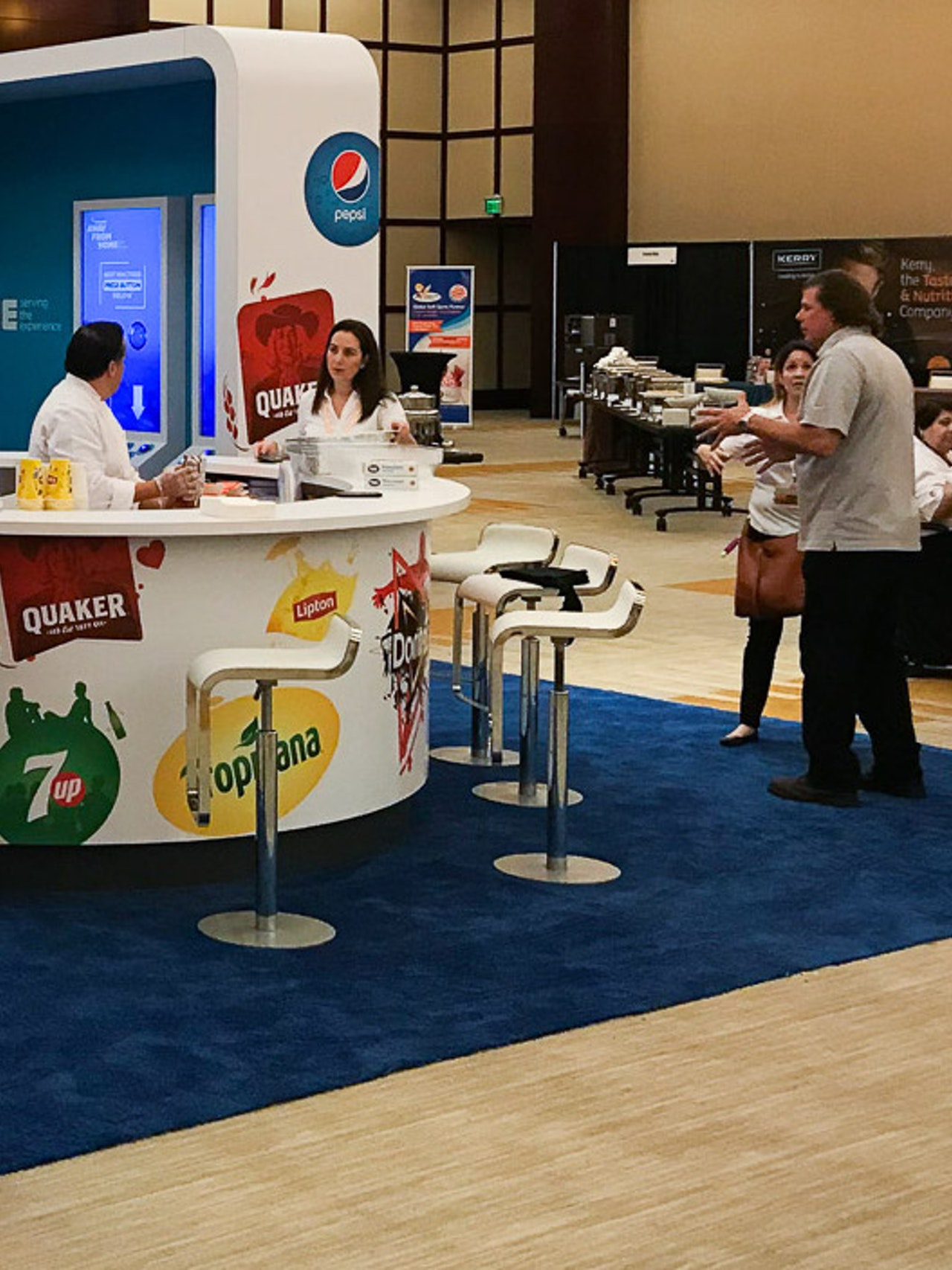 PEPSICO STAND - BURGER KING CONVENTION