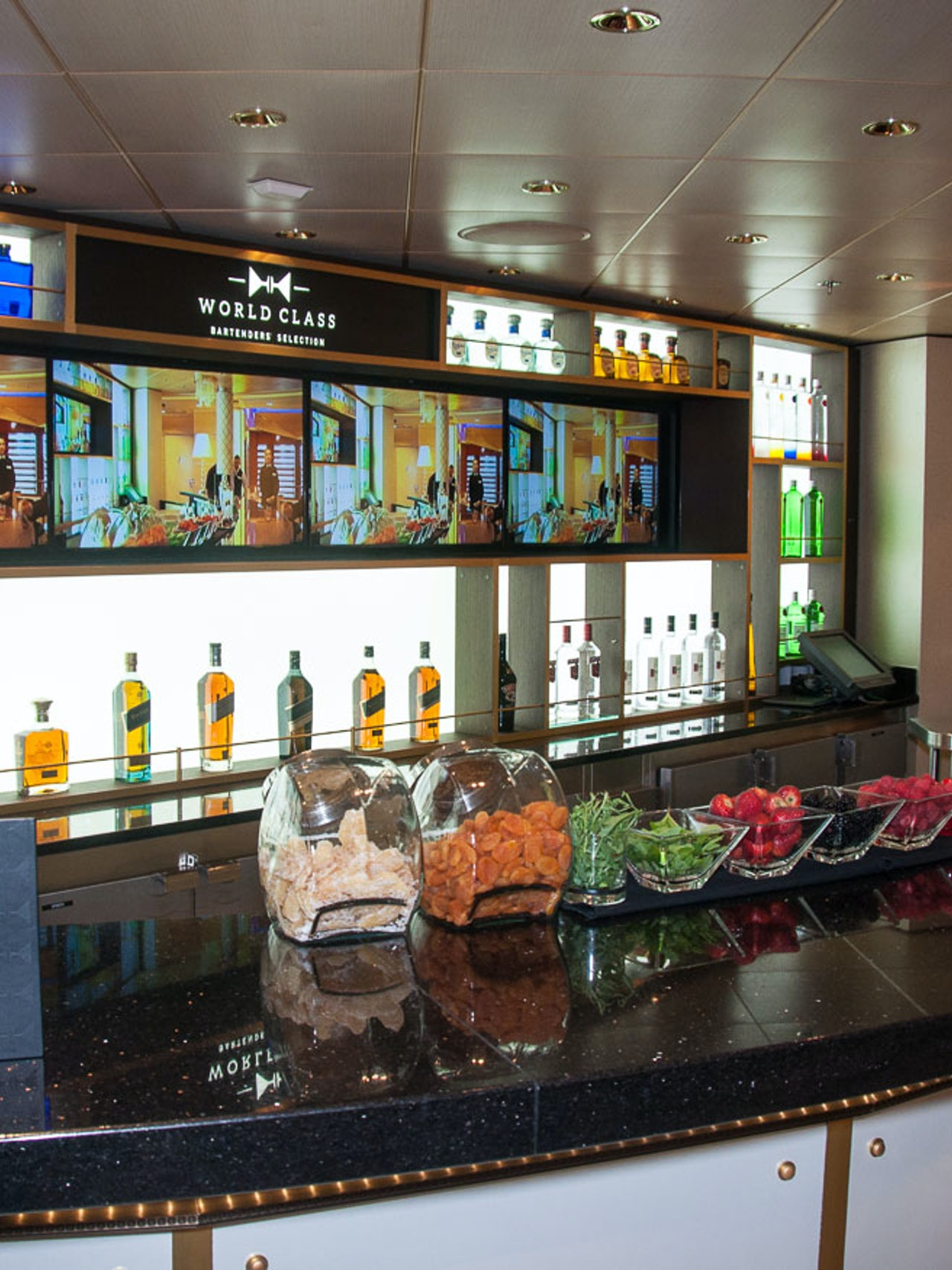 WORLDCLASS BAR - CELEBRITY ECLIPSE