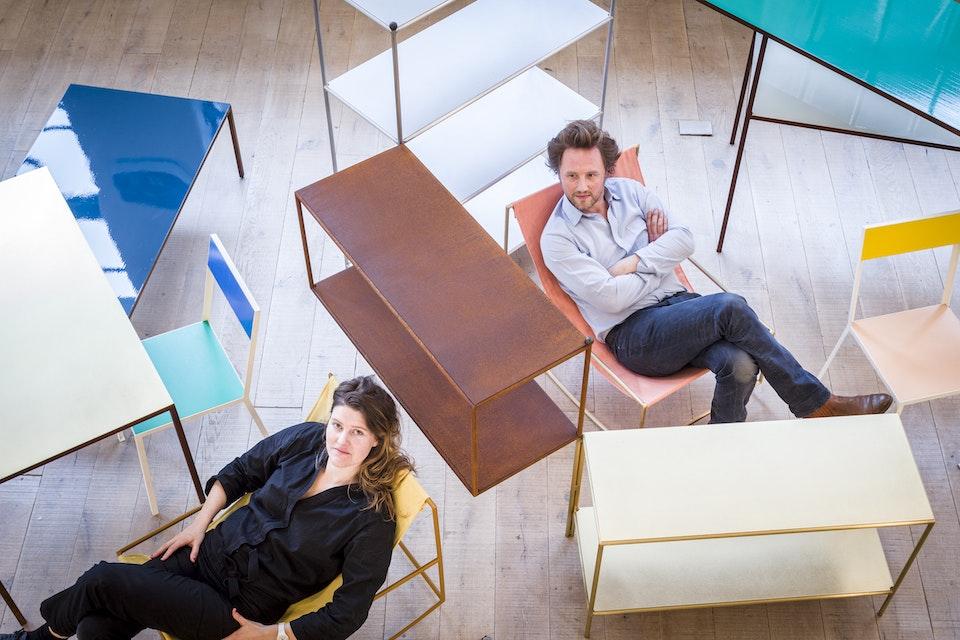 Portraits - Fien Muller and Hannes Van Severen photographed for FX magazine