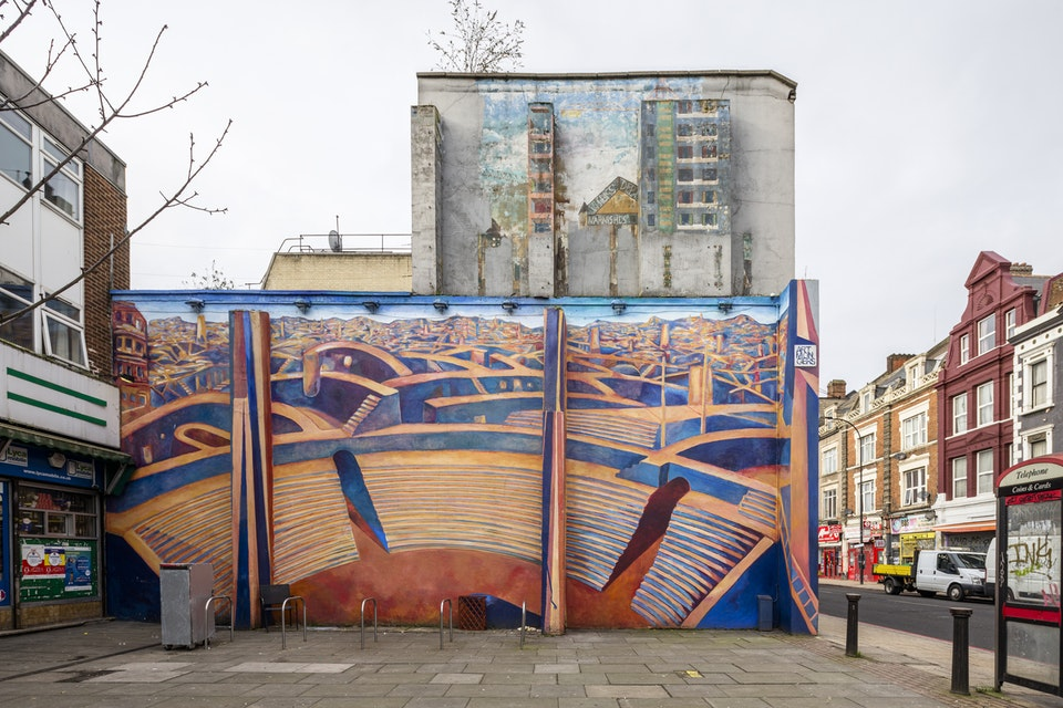 Deptford's painted walls