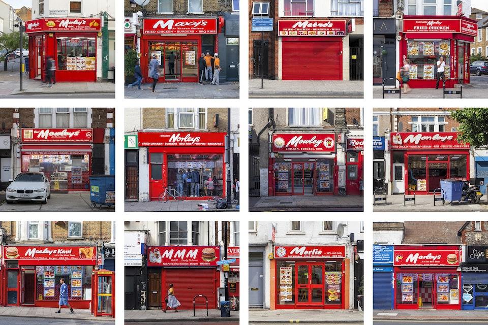 Morley's or Less - A grid of fake Morley's