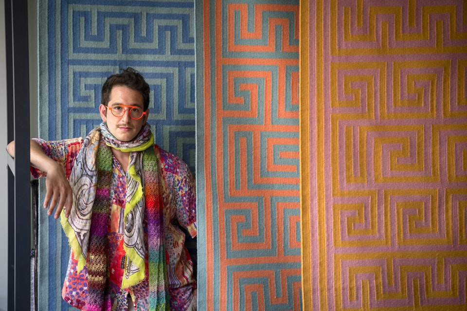 Portraits - Adam Nathaniel Furman for National Gallery of Victoria