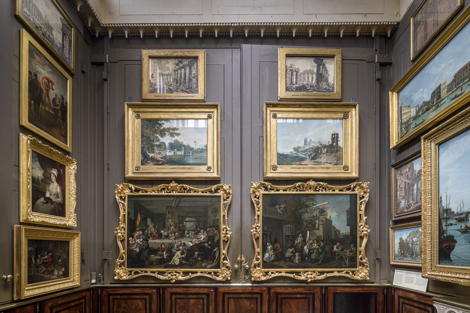 Hogarth at the Soane