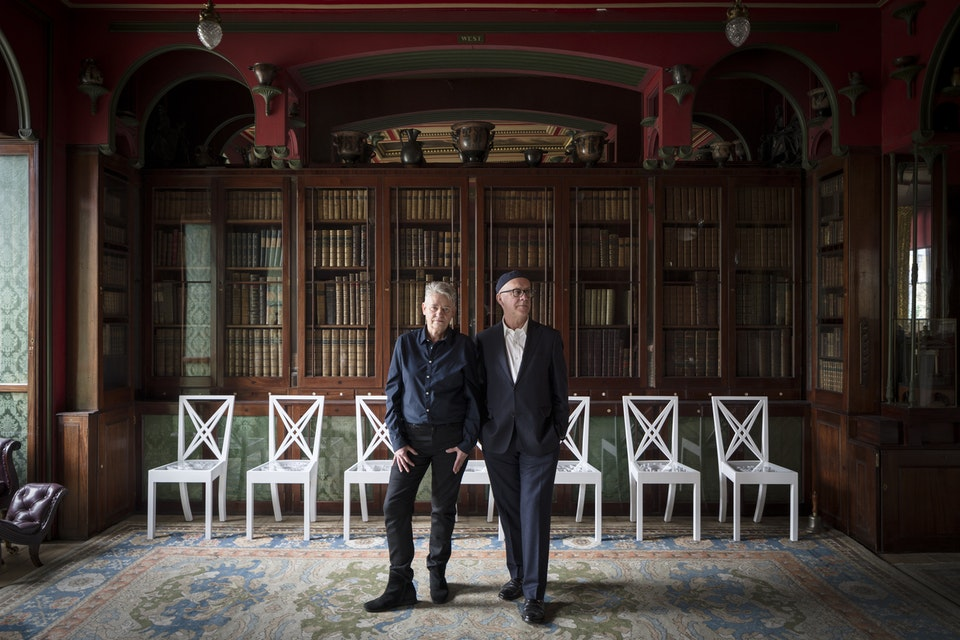 Portraits - Langlands and Bell for Sir John Soane's Museum
