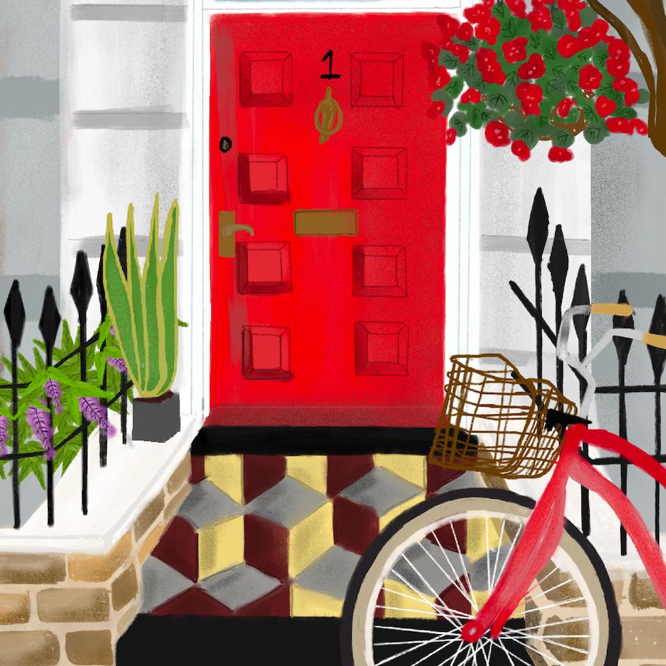 Barratt Homes Aries Door