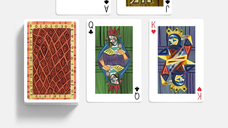 Maaya Lad - If famous artist designed playing cards