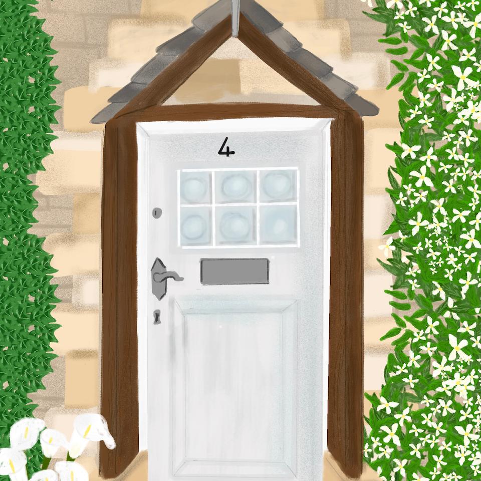 Barratt Homes Cancer Door