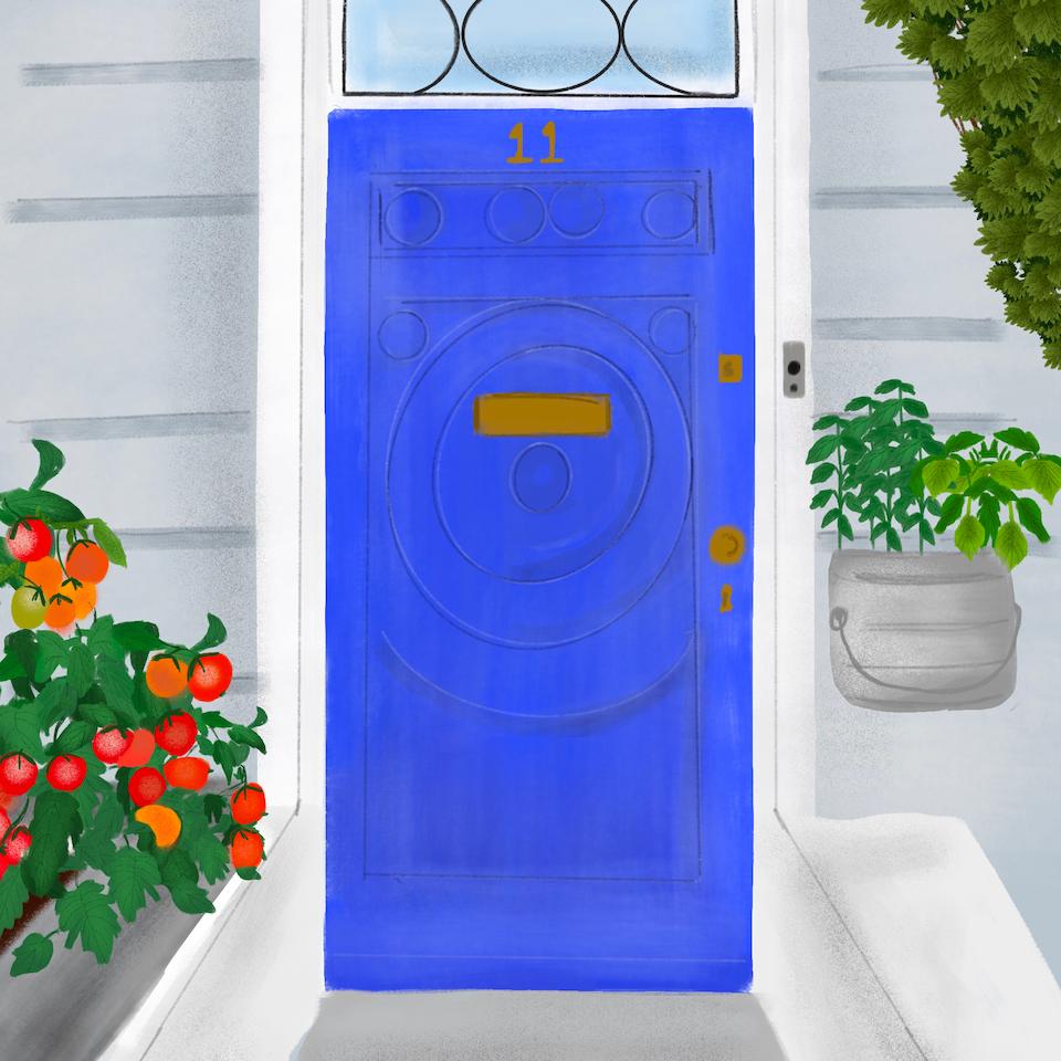 Barratt Homes Aquarius Door